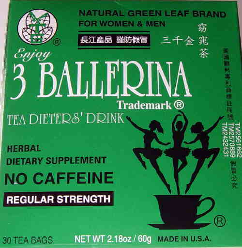 Chinese diet tea herbal teas for weight lost